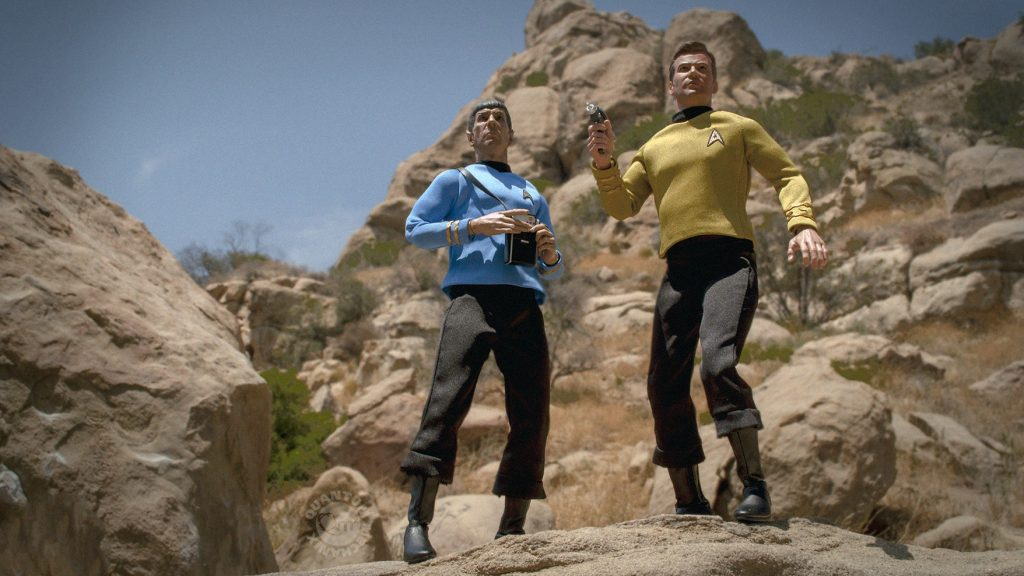 Kirk and Spock QMx -1