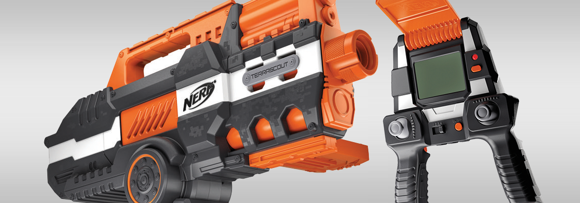Nerf drone
