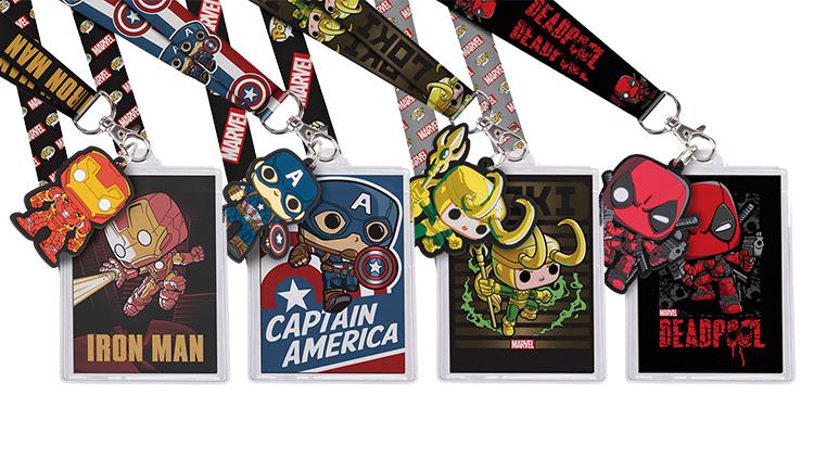 Marvel Lanyards from Funko!