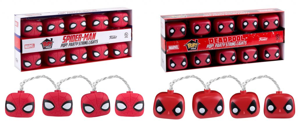 Marvel Pop! Party Lights from Funko!