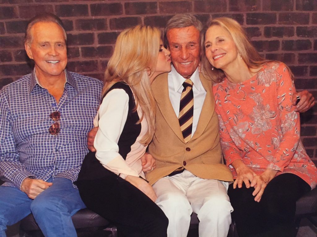 Lee Majors, Richard Anderson, Lindsay Wagner in a Bionic Reunion 2015.