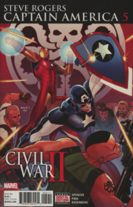 Steve Rodgers Captain America #5