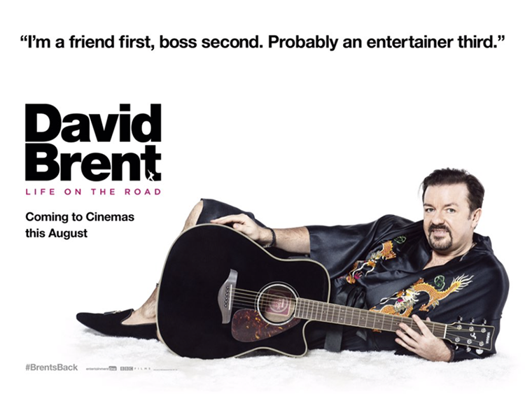 David Brent -- Life on the Road