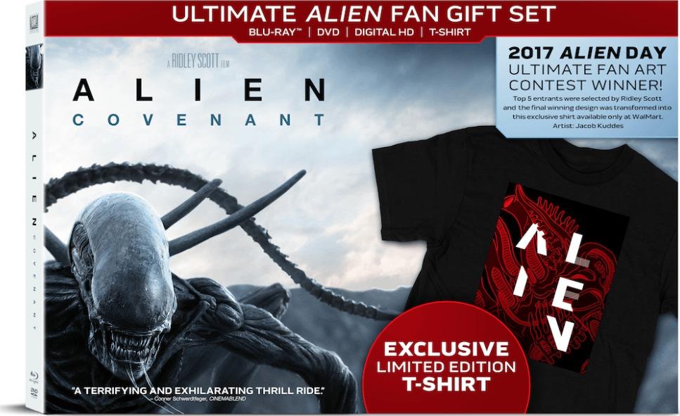 Alien Covenant Blu Ray