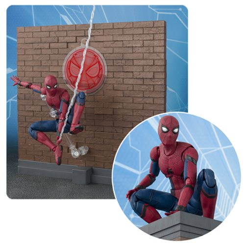 Spider Man: Homecoming SH Figuarts Action Figure - Free Shipping