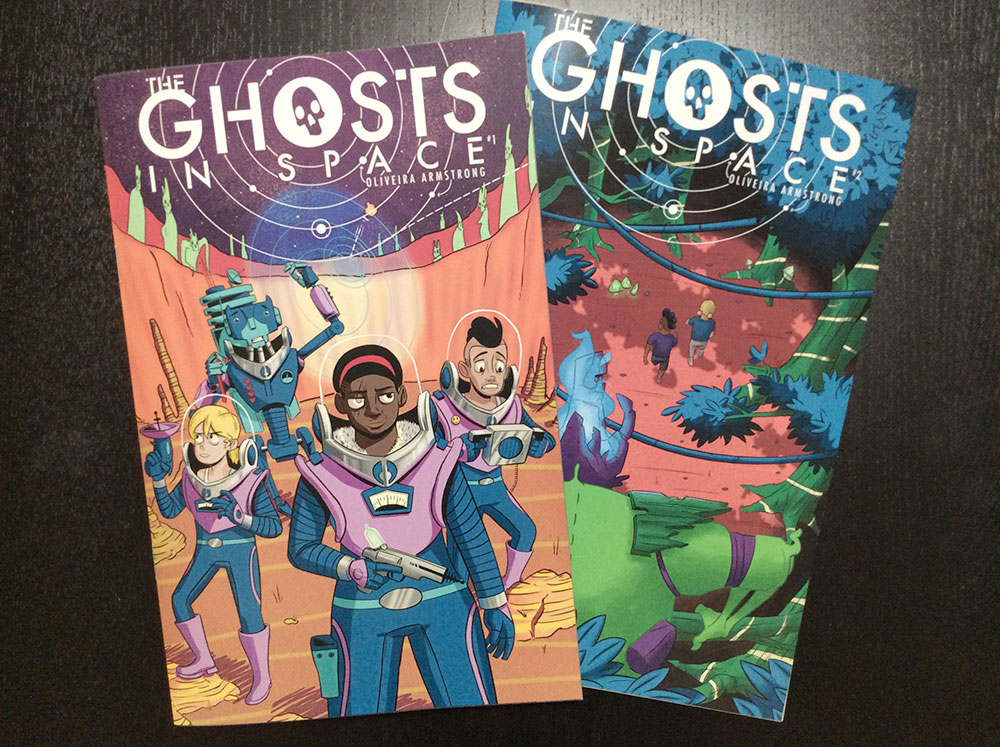 The Ghosts In Space covers 1 and 2