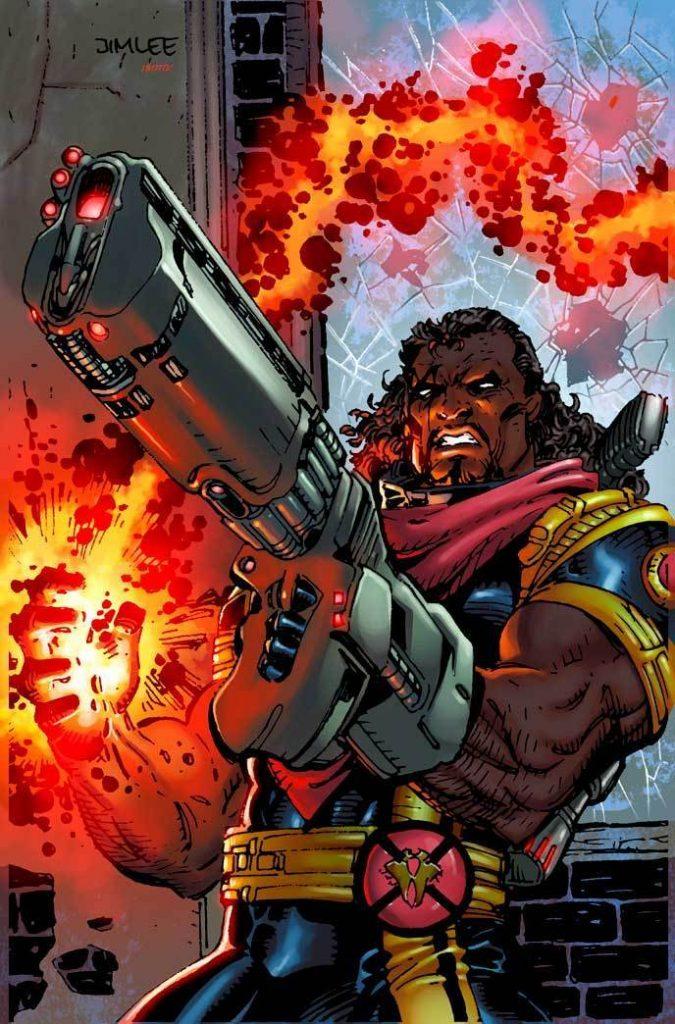 marvel comics x-men bishop jim lee
