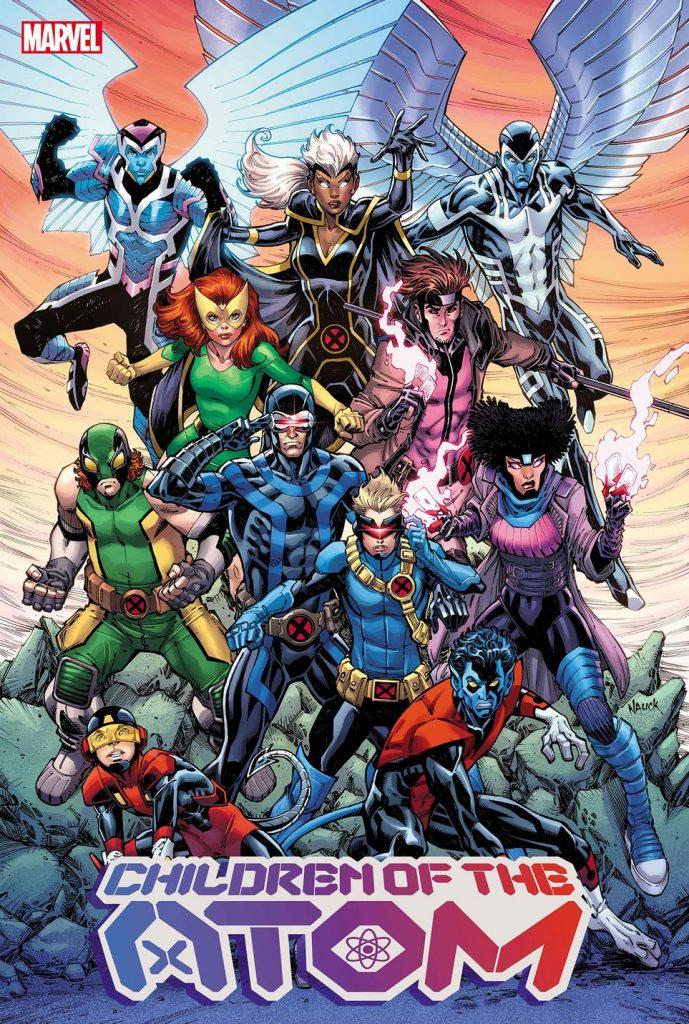 Children of the Atom X-Men Nauck Marvel
