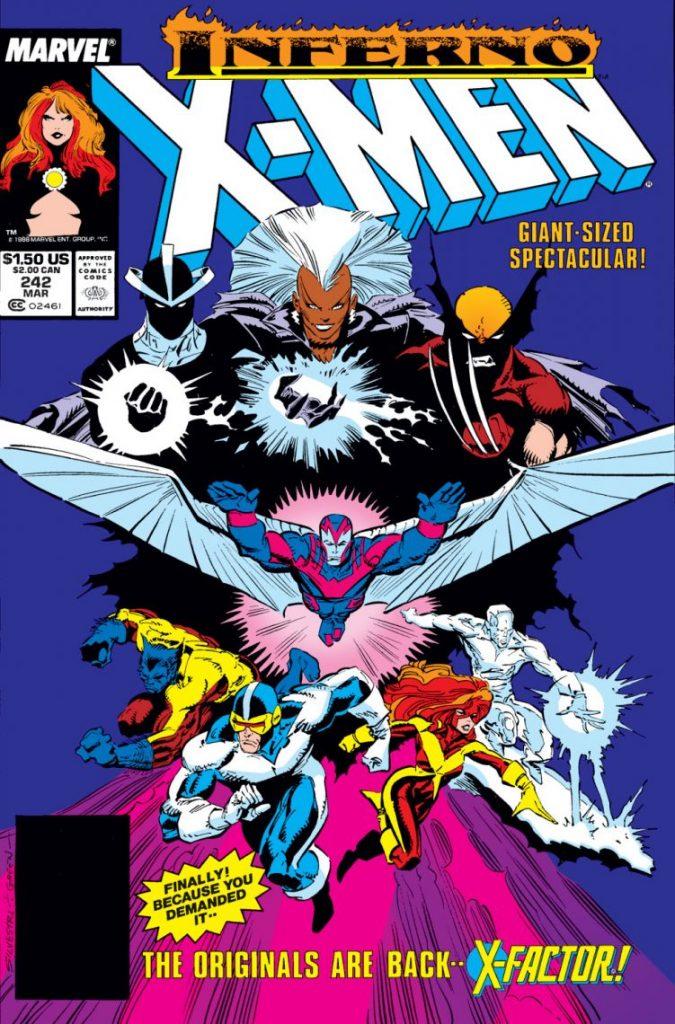 marvel comics x-men inferno