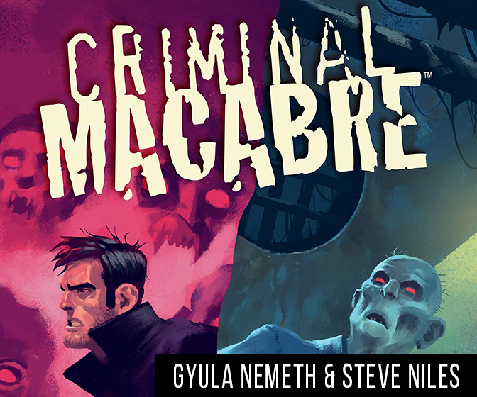 INTERVIEW: Gyula Nemeth and Steve Niles