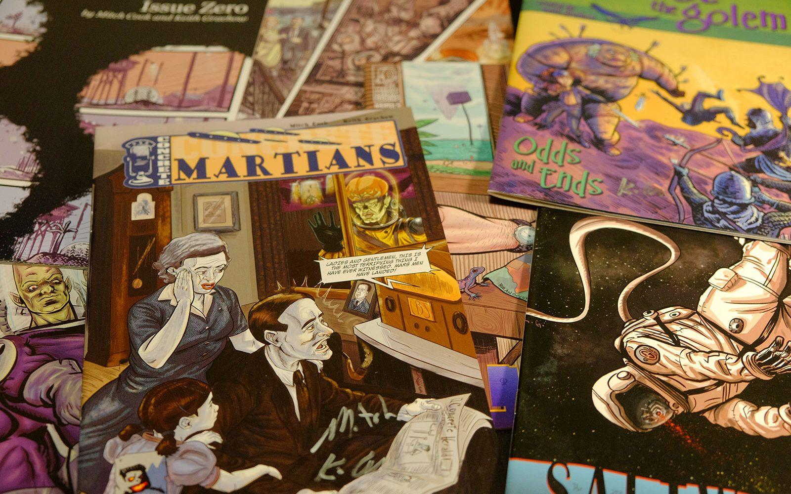 Pile of Kika Mika comics